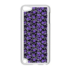 Roses pattern Apple iPod Touch 5 Case (White)