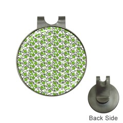 Roses pattern Hat Clips with Golf Markers