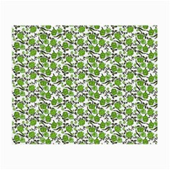 Roses pattern Small Glasses Cloth (2-Side)