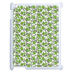 Roses pattern Apple iPad 2 Case (White)