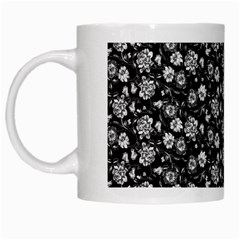 Roses pattern White Mugs