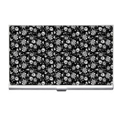 Roses pattern Business Card Holders