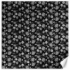 Roses pattern Canvas 12  x 12