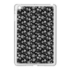 Roses pattern Apple iPad Mini Case (White)
