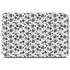 Roses pattern Large Doormat