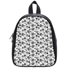 Roses pattern School Bags (Small)