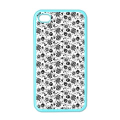 Roses pattern Apple iPhone 4 Case (Color)