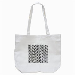 Roses pattern Tote Bag (White)