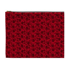 Roses pattern Cosmetic Bag (XL)