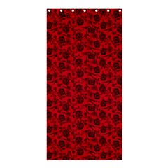 Roses pattern Shower Curtain 36  x 72  (Stall)