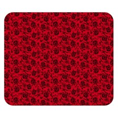 Roses pattern Double Sided Flano Blanket (Small)
