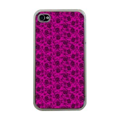 Roses pattern Apple iPhone 4 Case (Clear)