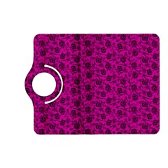 Roses pattern Kindle Fire HD (2013) Flip 360 Case