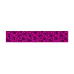 Roses pattern Flano Scarf (Mini)