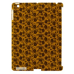 Roses pattern Apple iPad 3/4 Hardshell Case (Compatible with Smart Cover)
