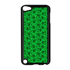Roses pattern Apple iPod Touch 5 Case (Black)