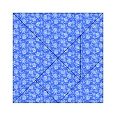 Roses pattern Acrylic Tangram Puzzle (6  x 6 )