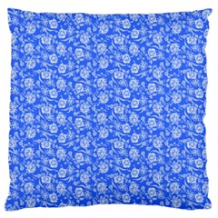 Roses pattern Large Flano Cushion Case (One Side)