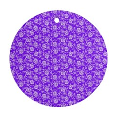 Roses pattern Ornament (Round)
