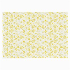 Roses pattern Large Glasses Cloth