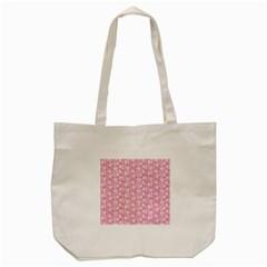 Roses pattern Tote Bag (Cream)