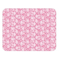 Roses pattern Double Sided Flano Blanket (Large)