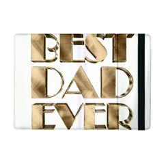 Best Dad Ever Gold Look Elegant Typography iPad Mini 2 Flip Cases