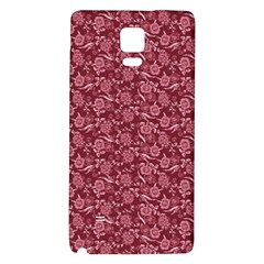 Roses pattern Galaxy Note 4 Back Case