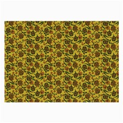 Roses pattern Large Glasses Cloth (2-Side)