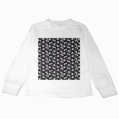 Roses pattern Kids Long Sleeve T-Shirts