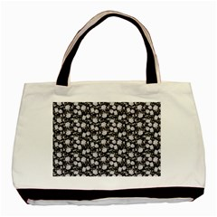 Roses pattern Basic Tote Bag