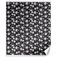 Roses pattern Canvas 11  x 14