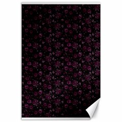 Roses pattern Canvas 24  x 36