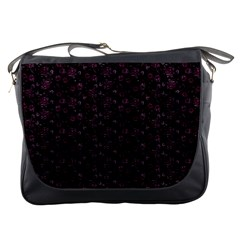 Roses pattern Messenger Bags