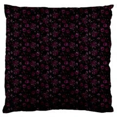 Roses pattern Standard Flano Cushion Case (Two Sides)