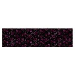 Roses pattern Satin Scarf (Oblong)