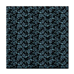 Roses Pattern Tile Coasters