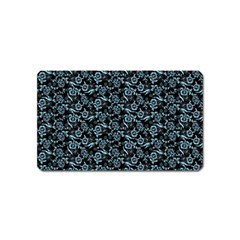 Roses pattern Magnet (Name Card)