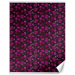 Roses pattern Canvas 12  x 16