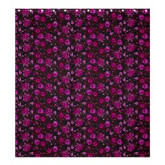 Roses pattern Shower Curtain 66  x 72  (Large)