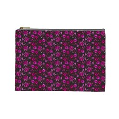 Roses pattern Cosmetic Bag (Large)