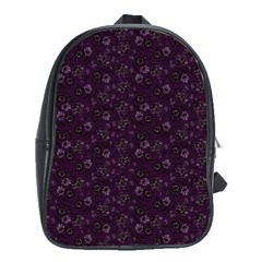 Roses pattern School Bags(Large)