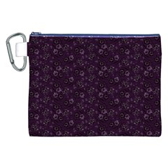 Roses pattern Canvas Cosmetic Bag (XXL)