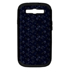 Roses pattern Samsung Galaxy S III Hardshell Case (PC+Silicone)