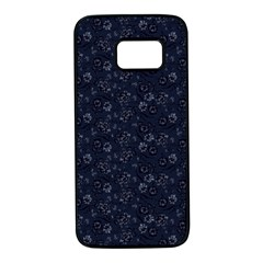 Roses pattern Samsung Galaxy S7 Black Seamless Case