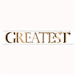 World s Greatest Dad Gold Look Text Elegant Typography Small Bar Mats