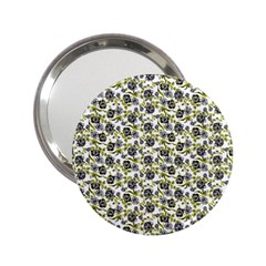 Roses pattern 2.25  Handbag Mirrors