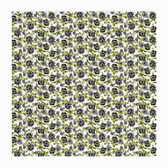 Roses Pattern Medium Glasses Cloth