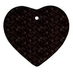 Roses pattern Ornament (Heart)