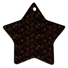 Roses pattern Ornament (Star)